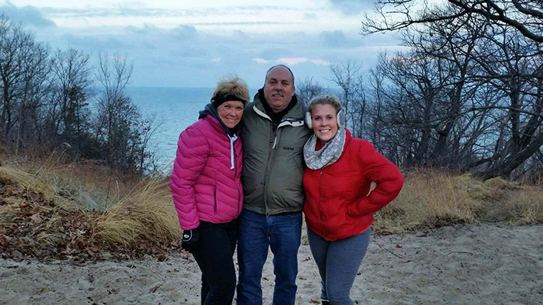 New Christmas morning tradition - hiking at Indiana Dunes State Park