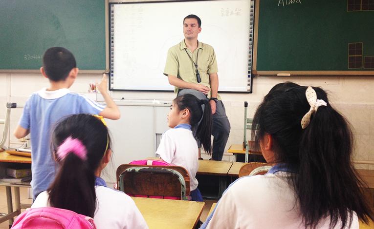 Teaching Chinese kids
