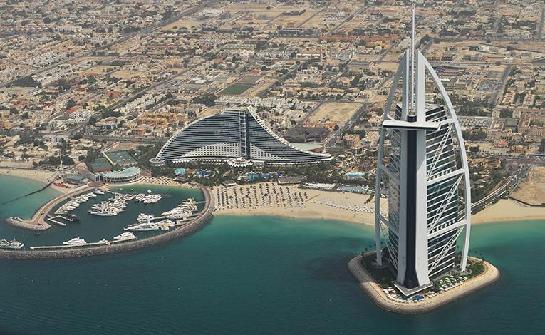 Cityview of Dubai, UAE