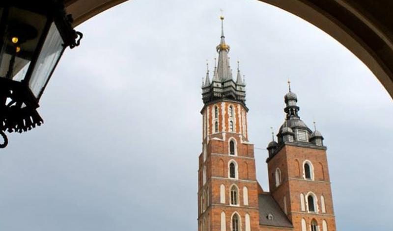 St. Mary's Basilica in Poland