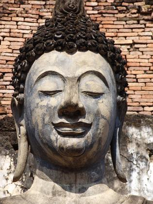 Sukhothai Buddha in Thailand.