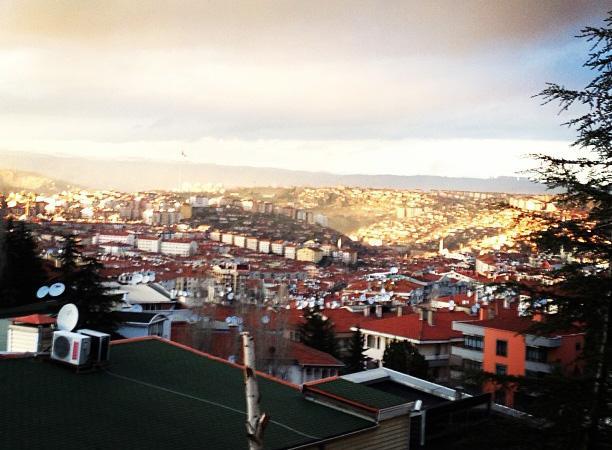 View of Ankara, Turkey.