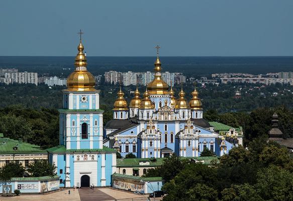St. Michael's Golden-Domed Monastery, Ukraine.
