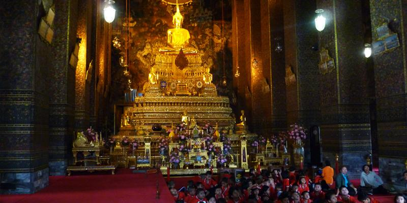 A Temple in Thailand during Roberts Most Recent Visit
