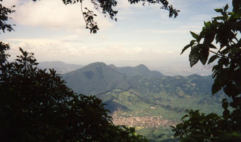 Mountain view in Guatemala