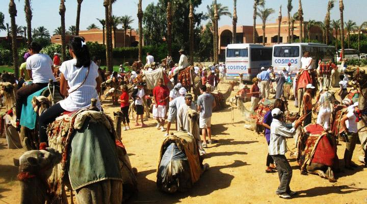 Camel back riding should not be forgotten during your visit in Egypt.