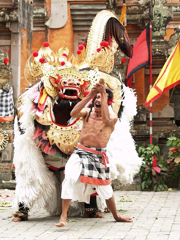 Barong and Kris Dance, Bali