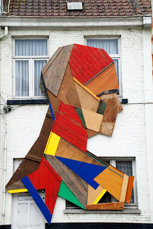 House decor in Bruges, Belgium
