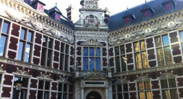 Take a class in a historical building like Utrecht University's Humanities Building while studying in the Netherlands