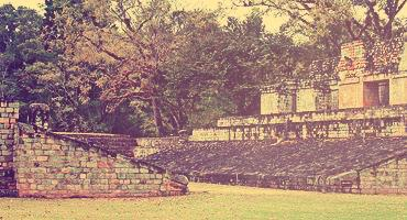 Mayan ruins in the Honduras