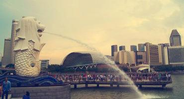 The Merlion, Singapore's most enduring symbol