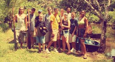 Environmental conservation volunteering is popular in Costa Rica