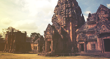 Temple ruins in Thailand