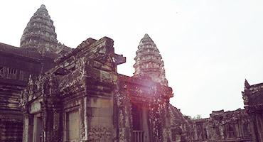 The Angkor Wat, Cambodia