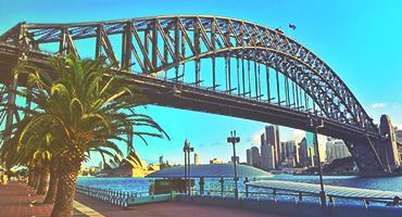 Sydney Harbor Bridge, Sydney, Australia