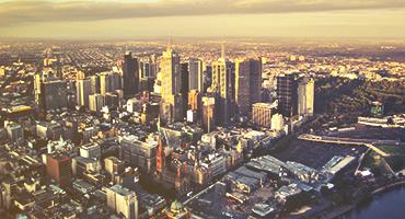City view of Melbourne, Australia