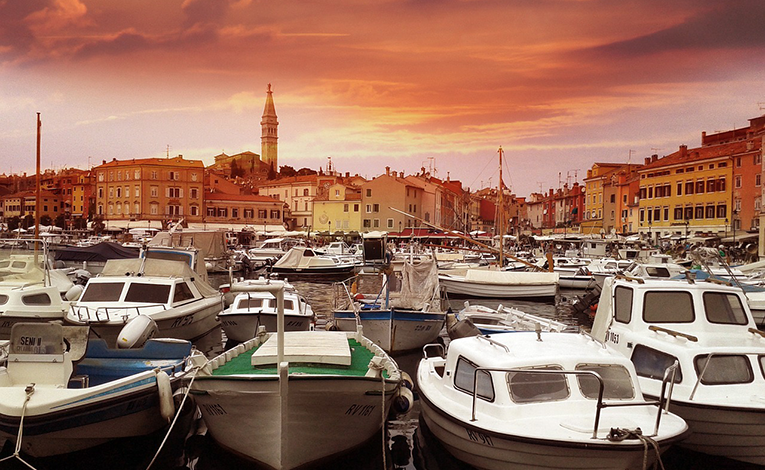 Rovinj City, Croatia