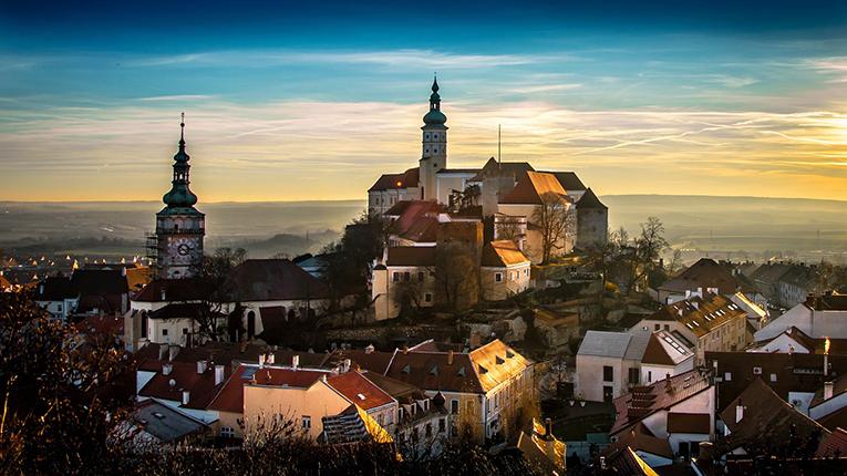 Old town in Czech Republic