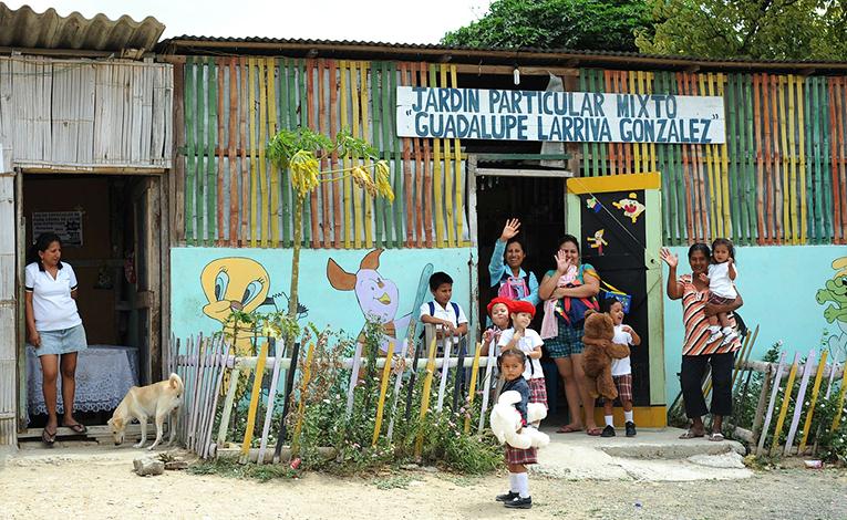 School in Manta, Ecuador