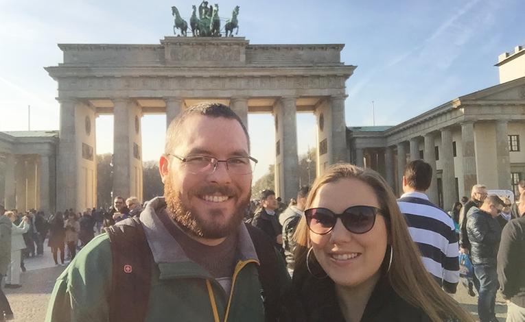 Couple in Berlin, Germany