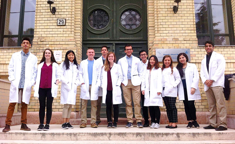 Medical students abroad