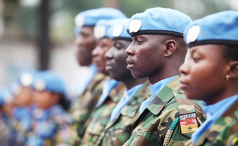 UN Peacekeepers in Ghana