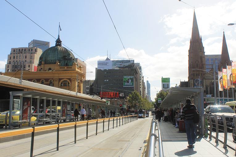 Melbourne transport lines