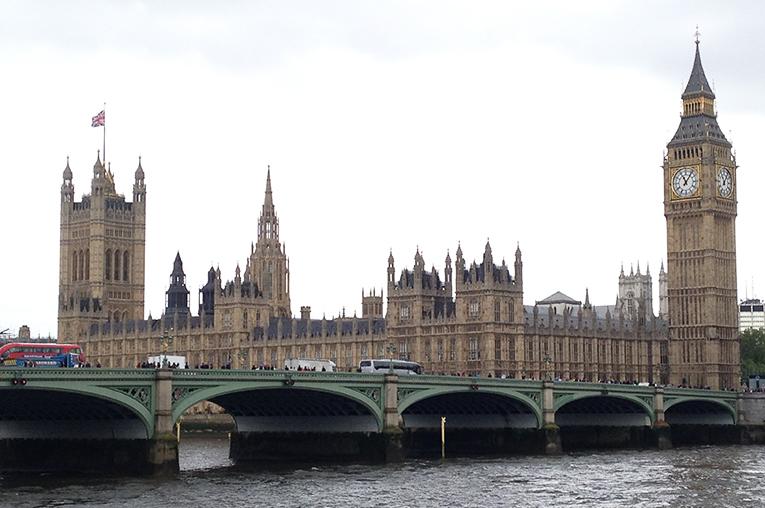 British Parliament in London, England