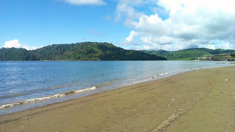 Puerto Jimenez beach, Costa Rica