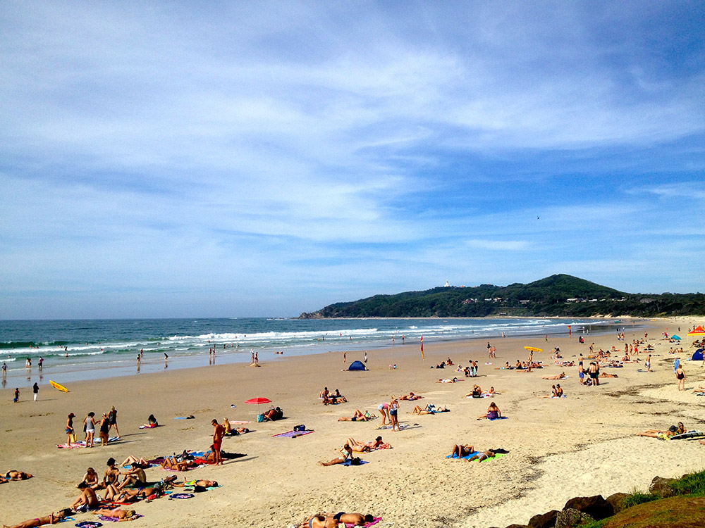 Queensland beach. Photo by Victoria MIta