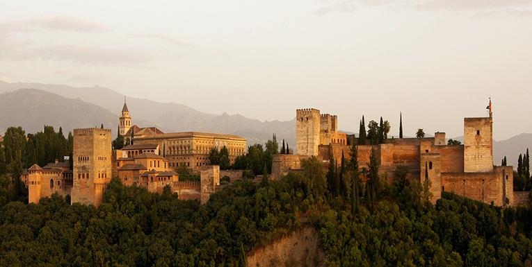 Alhambra Castle, Granada