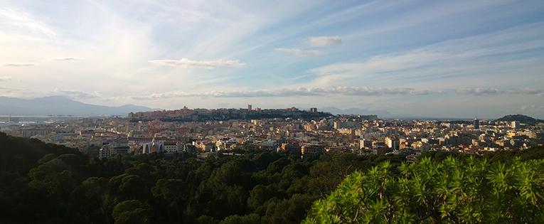 View of Sardinia, Italy