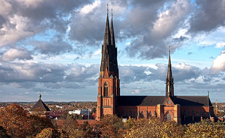 View of Uppsala, Sweden