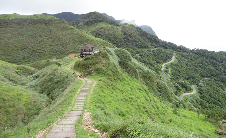 Cao Ling Historical Trail in Northern Taipei, Taiwan