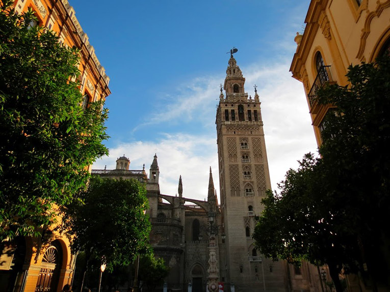 Sevilles Cathedral in Spain
