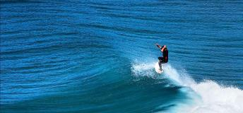 Surfing on the waves of Noosa is a must during the surfing festival.