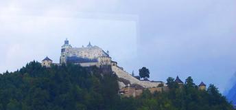 the Hohensalzburg Castle