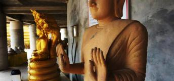 Be respectful of the Buddha when in Thailand.