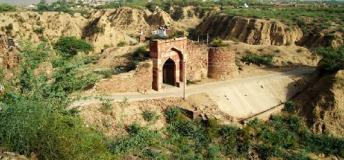 Gateway of Shergarh Fort