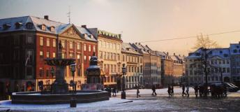 Gammeltorv is the oldest square in Copenhagen, Denmark
