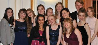 The Take Note A Capella Group at their Spring Formal in England