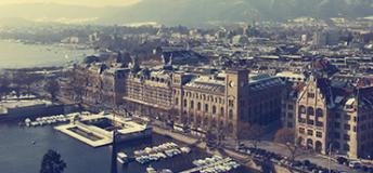 Study abroad views in Zurich