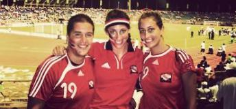 Trinidad vs. England Soccer Game in Trinidad