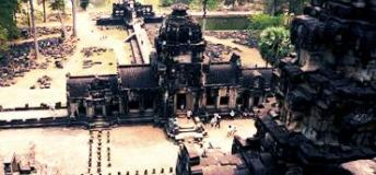 Visit vast temple complexes in Cambodia