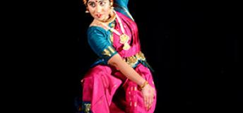 traditional Bharatanatyam dance, India