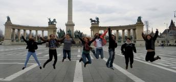 Jumping shot in Europe