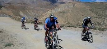 Mountain Biking from Leh to Manali in India