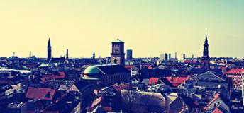 City view in Denmark