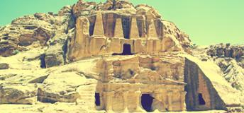 a historical site in Jordan