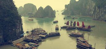 Hạ Long Bay in Vietnam